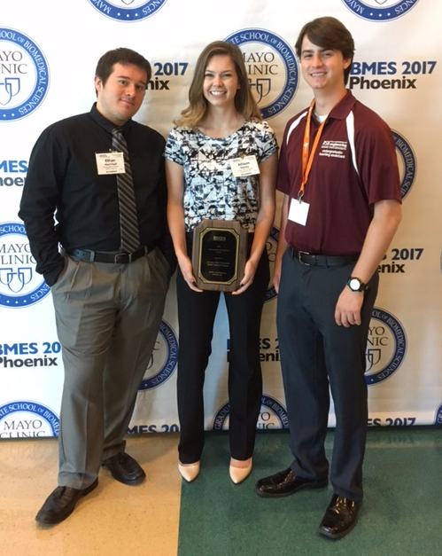 BMES student chapter earns national recognition