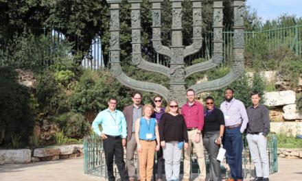Fulton Schools faculty members took educational sojourn to Israel