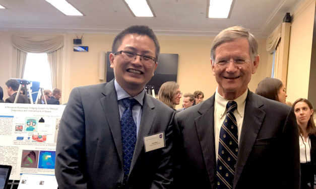 ASU engineer showcases NASA research to Congress on Capitol Hill