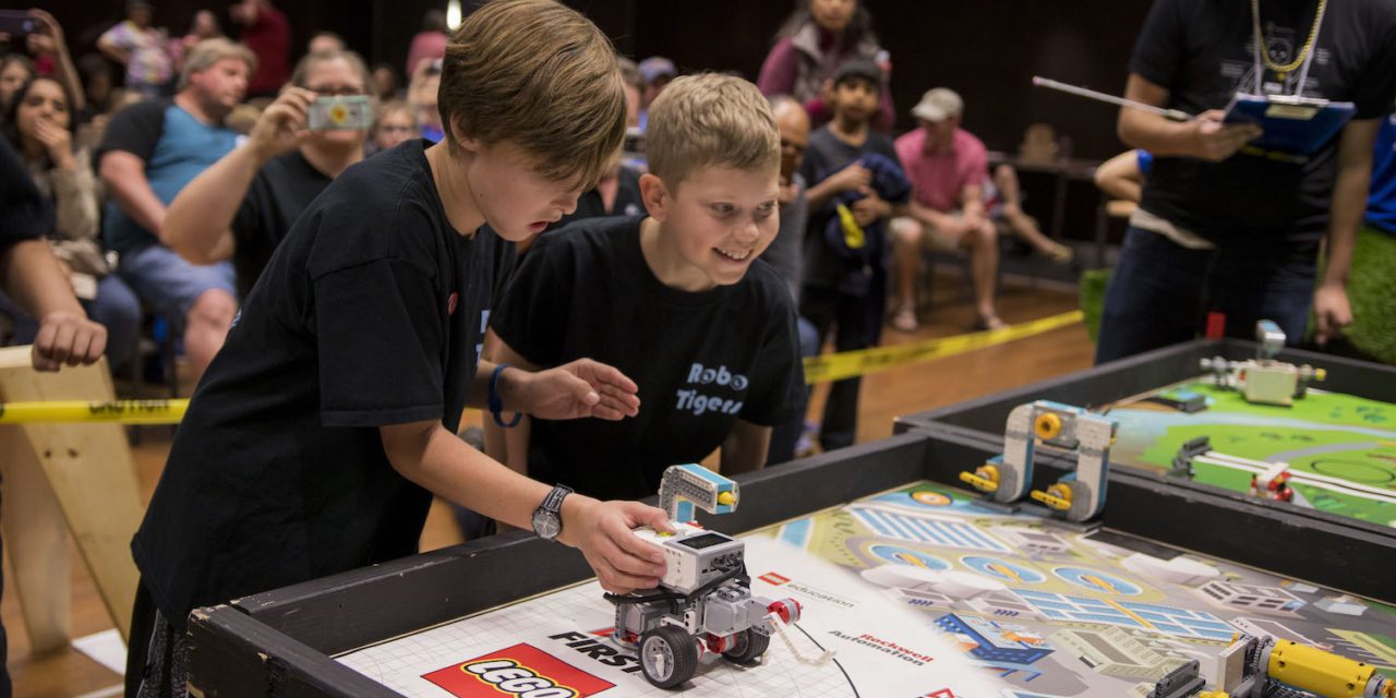 Robot rumble: kids learn tech and teamwork