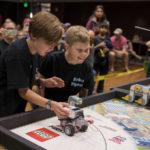 Robot rumble: kids learn tech and teamwork