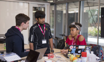 Students innovate for the world, with the world at Devils Invent
