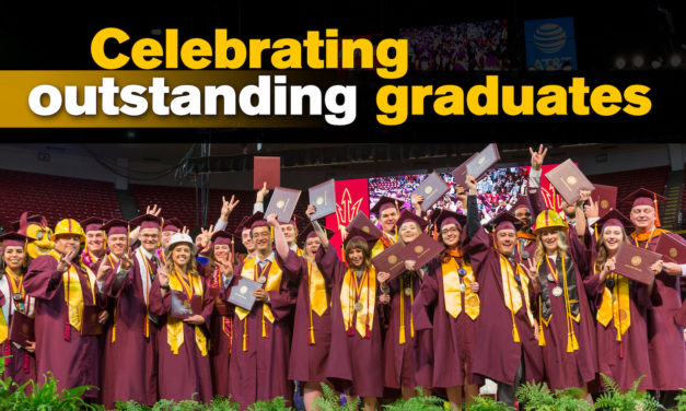 Meet the Fulton Schools' outstanding graduates of Spring 2018