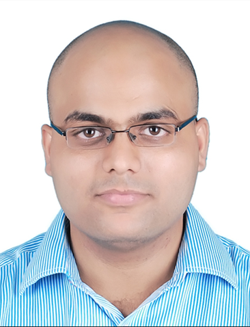 Portrait of Sudhansha Singh. Caption: Sudhansha Singh joined the material science and engineering faculty of the Indian Institute of Technology Kanpur soon after earning his doctoral degree.