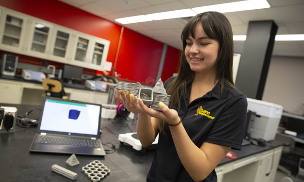 Student research highlighted at FURI Symposium