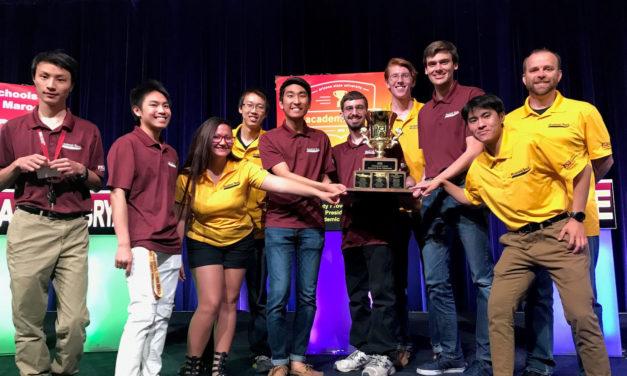 Classmates battle for title as Fulton Schools team wins Academic Bowl