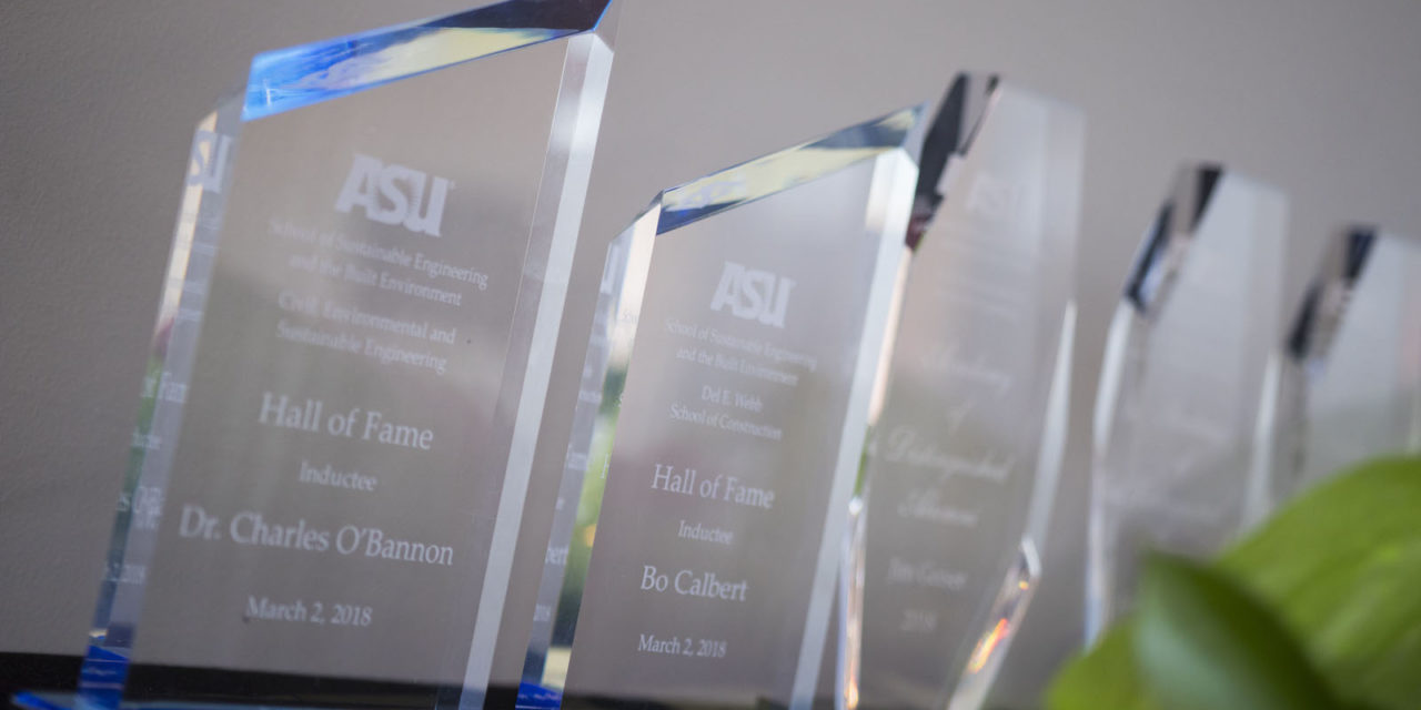 Honoring outstanding contributors to construction and civil engineering