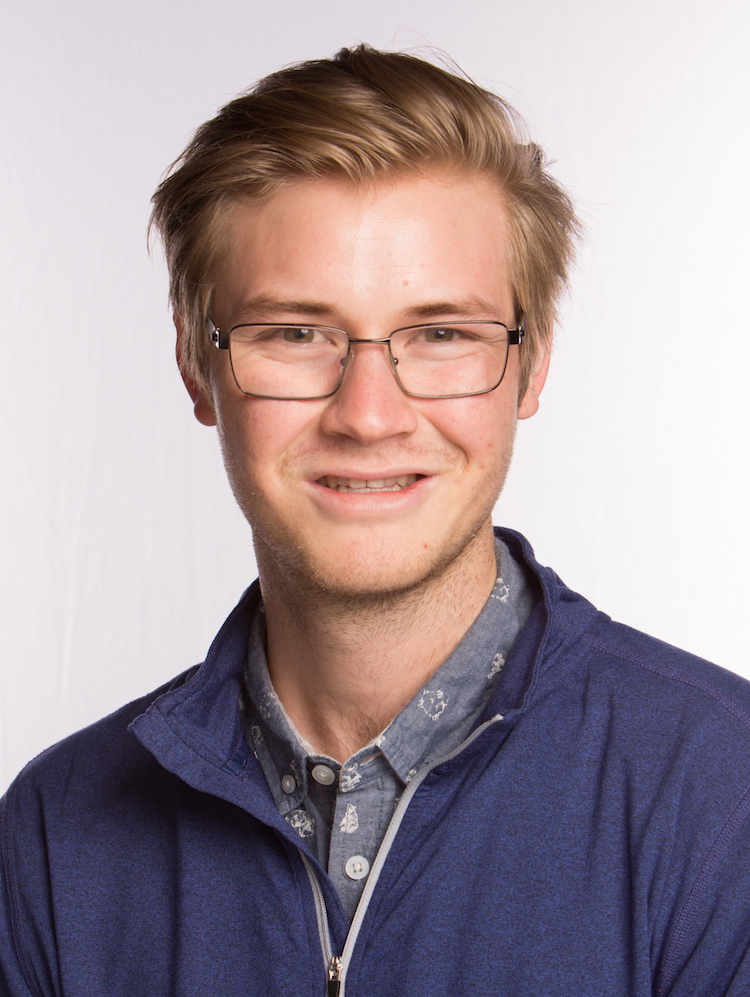 portrait of Logan Mathesen