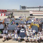 High school students embark on cross-country trek in solar-powered cars
