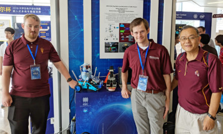 Robotic guide dog leads ASU team to first prize at Intel Cup