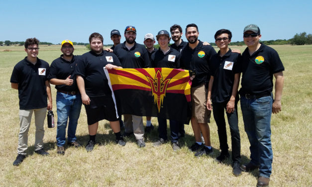 Egg-spect the unexpected: ASU students test their skills at CanSat competition