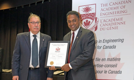 Work ethic earns professor a place in Canadian Academy of Engineering