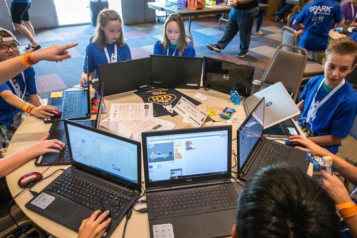 SPARK App League gives young students chance to code, learn about college