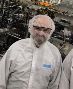 man in lab coat