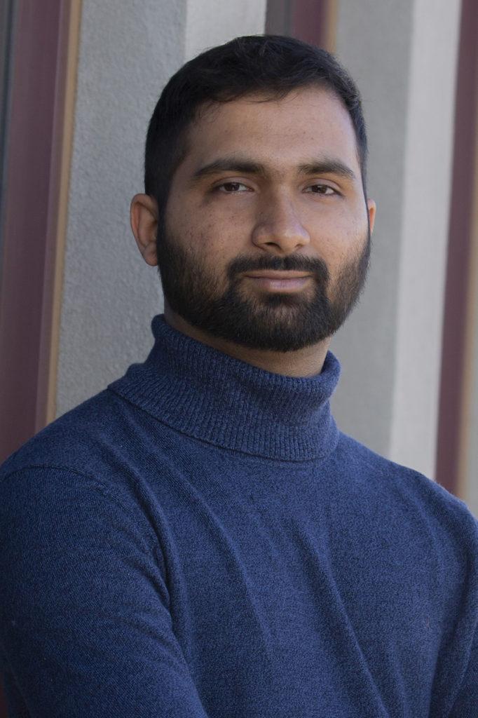 portrait of Karthik Subramaniam Pushpavanam