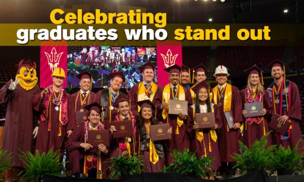 Meet the Fulton Schools' outstanding graduates of Fall 2018