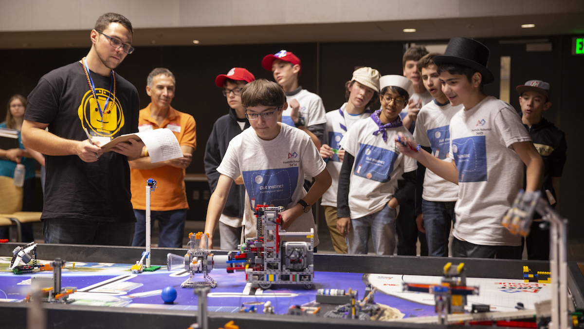 Education in action: FIRST LEGO League competition brings