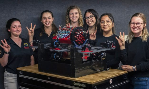 Desert WAVE robotics team makes a splash for women in STEM