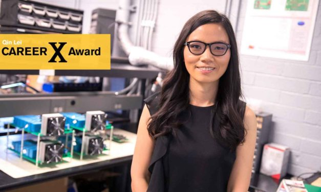 Improving efficiency to lower costs nets an NSF CAREER Award