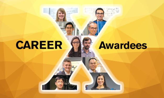 Engineering faculty members earn 10 new CAREER Awards