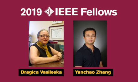 Two ASU researchers named 2019 IEEE Fellows