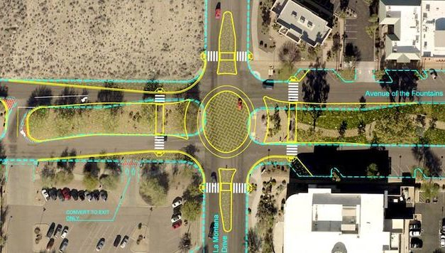 Roundabout considered at busy intersection