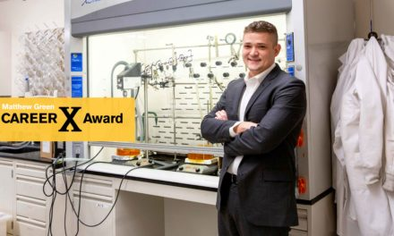 Salts and polymers research cooks up NSF CAREER Award