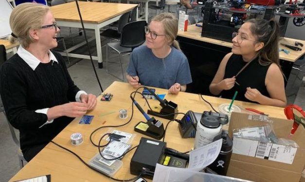 All-female Mesa robotics team pumped for contest