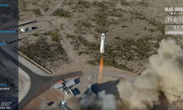 ASU student-led payloads launched on Blue Origin space vehicle