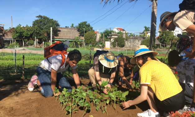 Service-learning trip has ASU and Vietnamese students co-develop smart farm technology