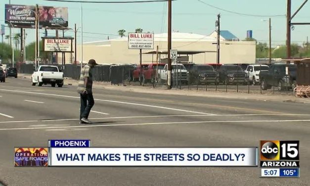 ASU researcher studying how to prevent pedestrian deaths around Phoenix