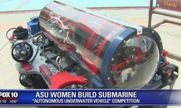 Team of all-female ASU students took 3rd in a world robotics competition