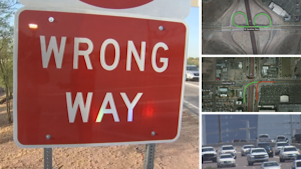Phoenix area freeway system not to blame for wrong-way drivers, says expert