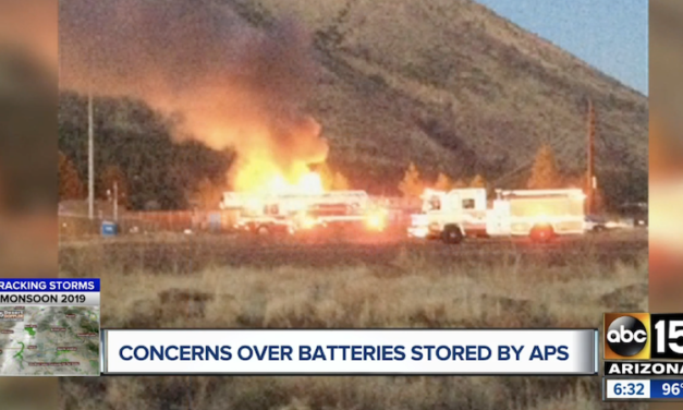 Arizona Corporation Commission member questions risks of APS lithium battery sites