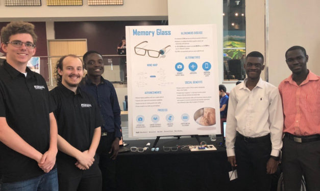 Students create solutions at Devils Invent