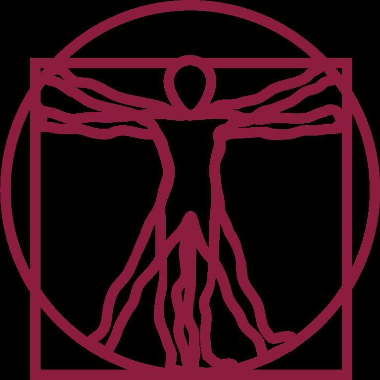 Icon of the Vitruvian Man