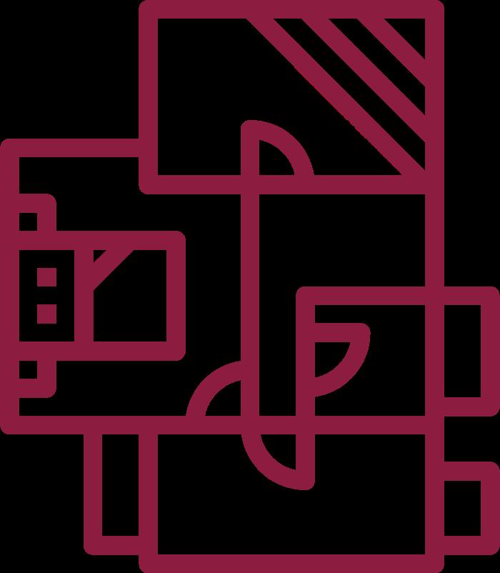 Icon of a floorplan