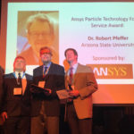 Robert Pfeffer's influential career in particle technology recognized with service award