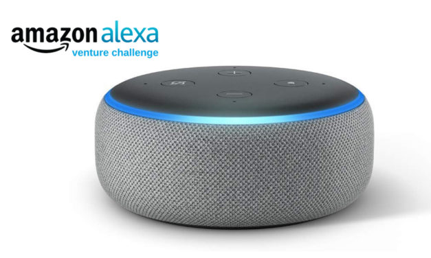 """""""Alexa, how can I get funding for my student venture?"""""""