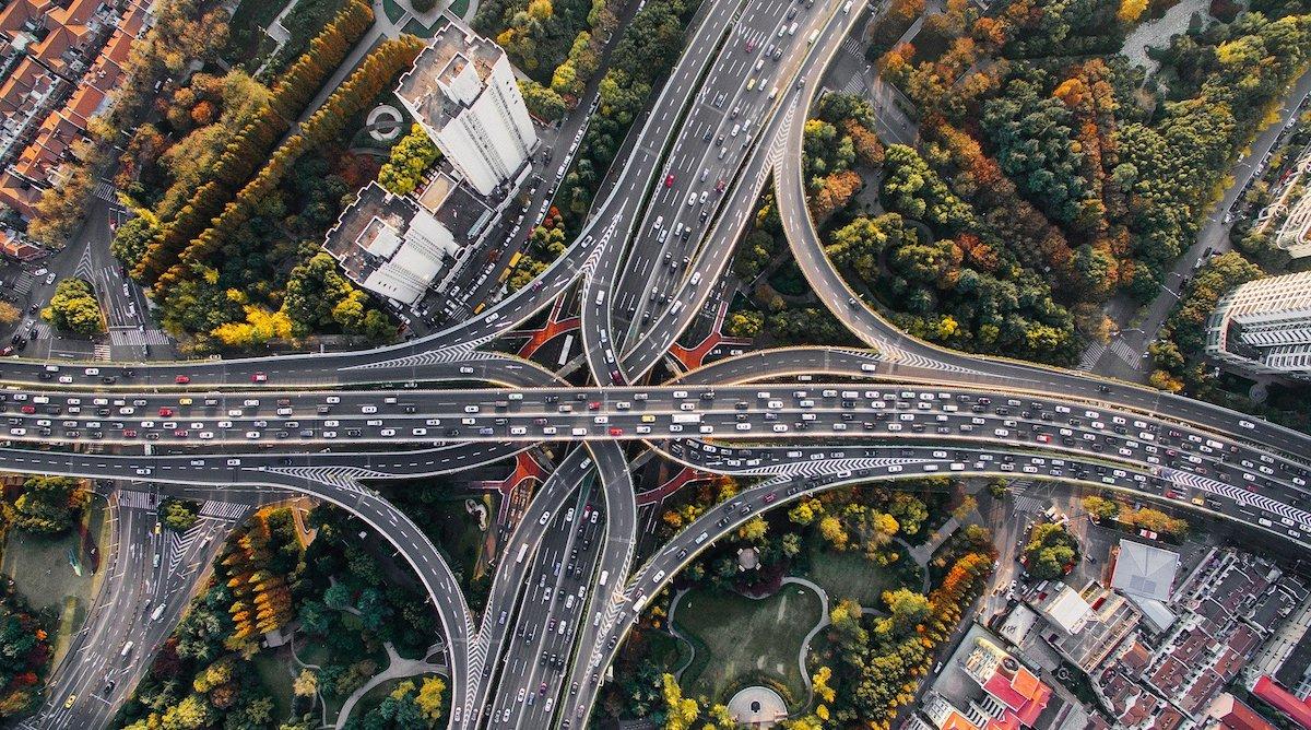 freeway interchage