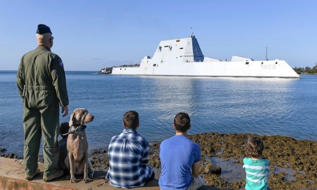 New high-voltage power plant in Japan can support Navy's electric stealth destroyers