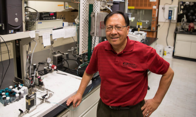 Jerry Lin named NAMS Fellow for achievements in membrane field