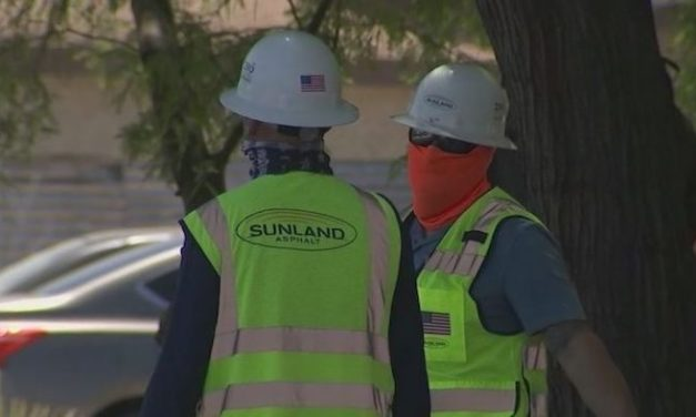 Construction in Arizona continues during COVID-19 spread, but with health precautions