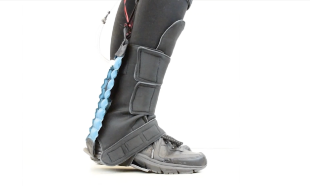 Taking steps toward ankle rehabilitation using soft robotics