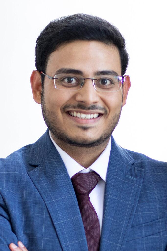 portrait of Ashif Sikandar Iquebal