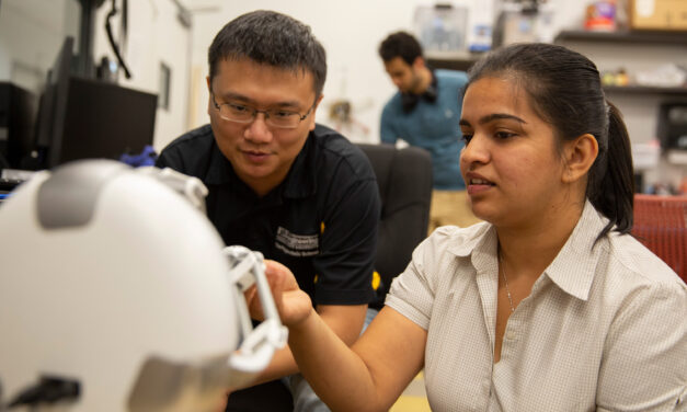 MORE program funds research for master's students