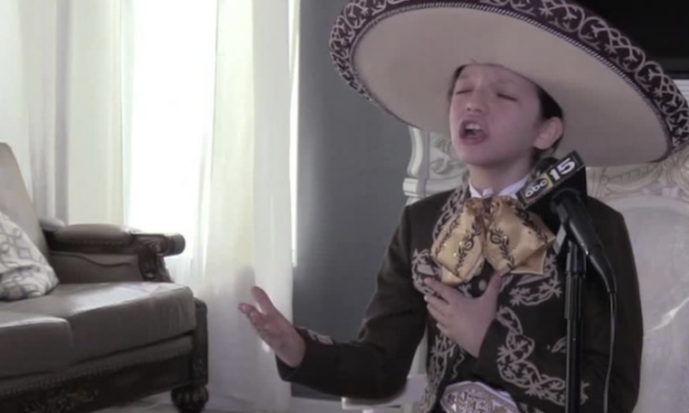 A mariachi child genius breaking down stereotypes about immigrants
