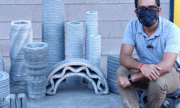 ASU Professor Granted $2M to Accelerate Concrete 3D Printing