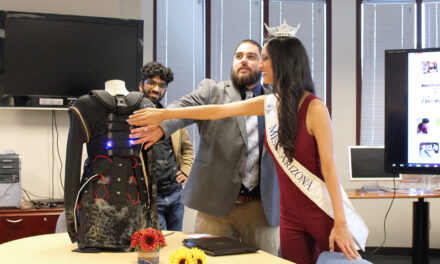 Sensory setback expands horizons for Fulton Schools PhD engineering grad