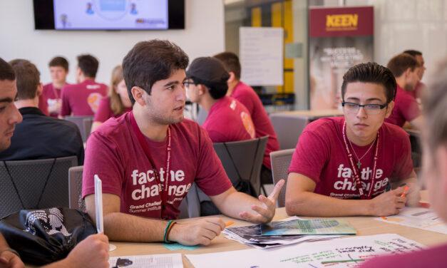ASU Grand Challenges Scholars gain transformative engineering experiences